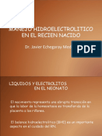 Requerimientos de Liquidos, Electrolitos 2010