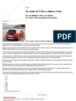 Volvo Vendida Para Chinesa
