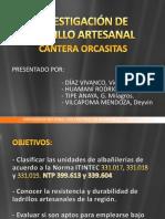 Unidad de Albañilería-Orcasitas