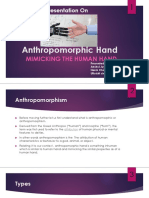 Anthropomorphic Hand Presentation