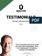 Overload Worldwide Testimonials-part1