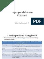Tugas Pendahuluan FTS STERIL 1
