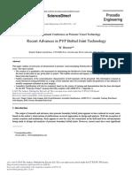 Recent Advance PVP
