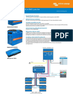 Datasheet Lithium Ion HE Battery and Lynx Ion BMS FR