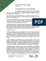 La Jornada Catequética en el plan de Pastoral UE Gonzaga