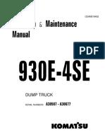 O&M 930E-4SE A30587-A30677 CEAM019402