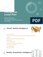 copy of copy of multiple intelligences lesson plan student outline