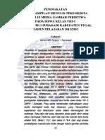 ART Suharti Peningkatan Keterampilan Menulis Teks Fulltext