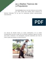Las 5 Danzas y Bailes Típicos de Sinaloa Más Populares - Lifeder