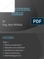 Interviewing Skills.amr Helal