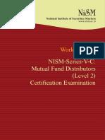Nism Series v c Mutual Fund Distributors Level 2 Workbook