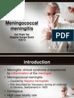 Meningococcal Meningitis - Dr Ooi Phaik Yee.pptx