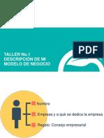 Presentacion Taller 1 Descripción de mi modelo de negocio.pptx