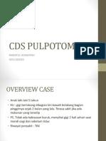 Cds Pulpotomi Sulung