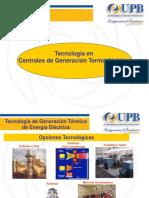 tecnología generación termoeléctrica