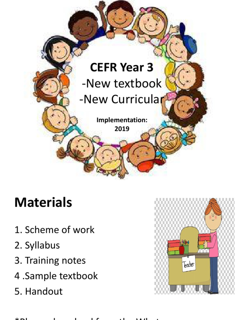 CEFR Year 3 LADAP Presentation