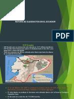 Rotura de Oleoductos en El Ecuador