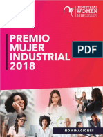 Premios Mujer Industrial 2018 Editable