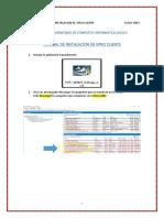 Manual de Instalacion De Vpro Hp