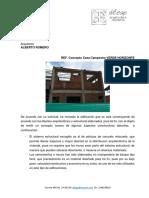 CONCEPTO TÉCNICO A EDIFICACIÓN EN CONSTRUCCIÓN