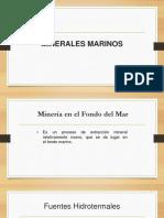 Minerales Marinos