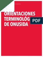 2015 Terminology Guidelines Es