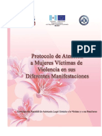 Protocolo de Victimas de Violencia