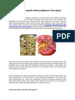 Obat Herbal Ampuh Untuk Penghancur Batu Ginjal