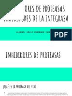 Inhibidores de Proteasas Inhibidores de La Integrasa