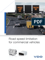 Brochure Road Speed Limitation GB