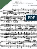 Rachmaninoff Mendelssohn Scherzo From a Midsummer Night's Dream