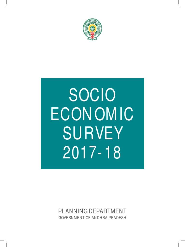 Socio Economical Survey 2017-18 pdf | Gross Domestic Product