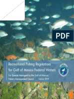 Gulf of Mexico Federal Recreational Saltwater Fishing Regulations