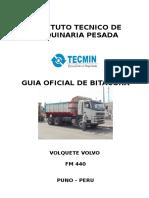 Bitacora de Volquete Fm 440