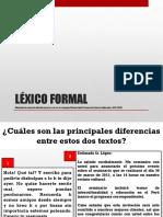 lexico formal