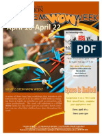 stem wow week flyer