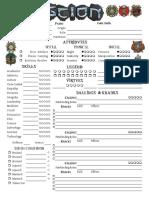 Scion 2e - Character Sheet