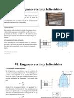 Clase 6 Engranes Rectos y Helicoidales