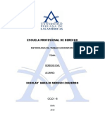 Trabajo Investigacion Metologia Del Tr