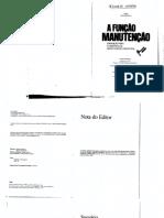Função Manutenção – Formação Da Manutenção Industrial