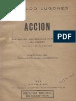 Accion - Lugones, Leopoldo