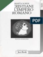 Marta Sordi i cristiani e l'impero romano