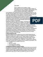 DERECHO ELECTORAL -PROCESOS