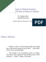 Issues+Pak+Economy+Lec+9+politics+in+Pakistan