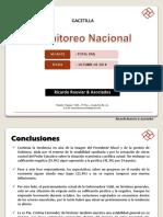 Encuesta Ricardo Rouvier Monitoreo Nacional