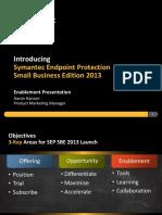 SEP SBE 2013 Lenovo Enablement Presentation TD 10-25-12