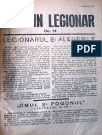 Buletin Legionar nr. 14, 11 februarie 1938