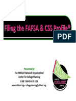 FAFSA and Profile