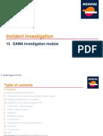 En_13. GAMA Investigation Module (DSMA)b