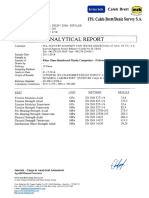 Intertek Frp Mechanical Testing Report